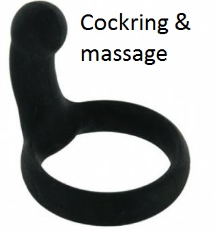 cockring met massage element