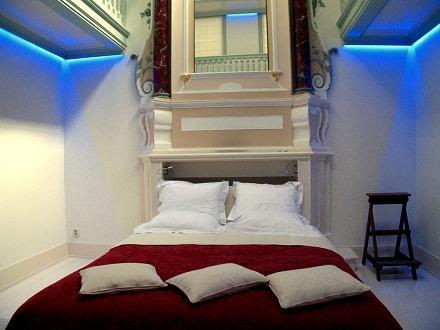 Romantische seks in een hotel