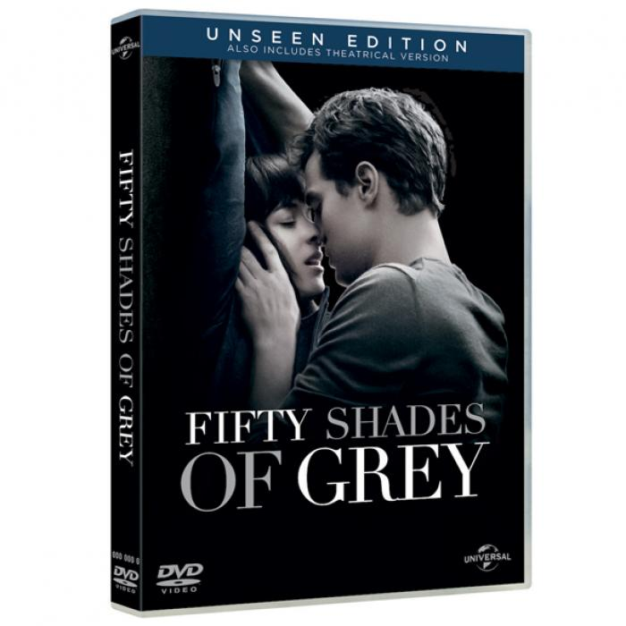 dvd van fifty shades of grey